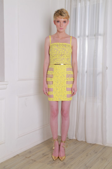 Diana Skirt Color Yellow image