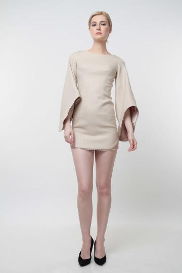 Ophelia Mini Dress Nude image