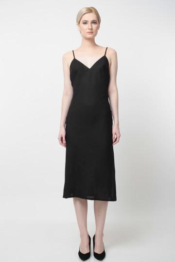Ocean Dress Black image