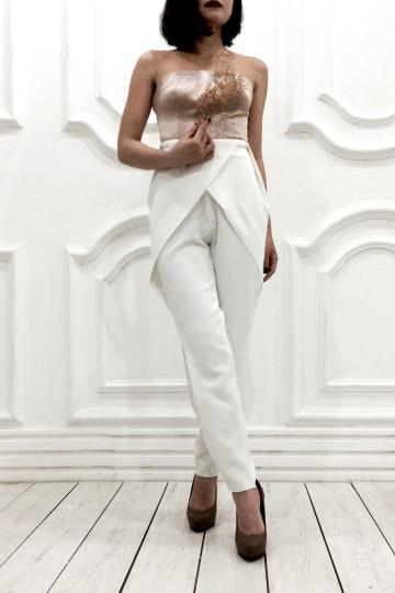 Ming Pants White image