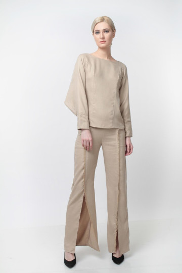 Breeze Batwing Top Khaki image