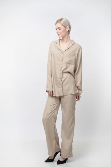 Daybreak Pants Linen Khaki image