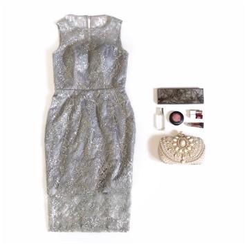 AMARYLLIS DRESS - GRAY image