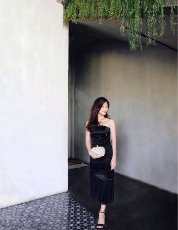 ROSEMARY DRESS - BLACK image