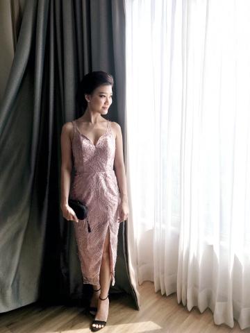 CANYON DRESS - PINK image