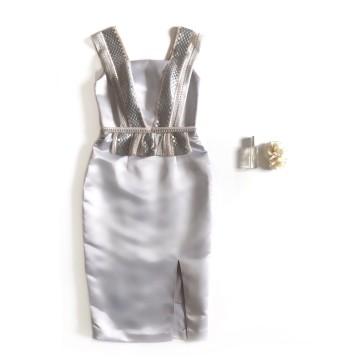 VINCA DRESS - GRAY image