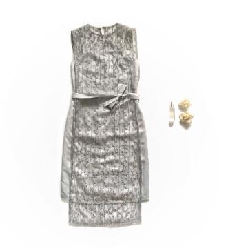 ARUM DRESS - GRAY image