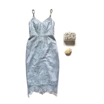 HAZEL DRESS - LIGHT BLUE image