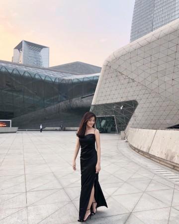 HELLE DRESS - BLACK image