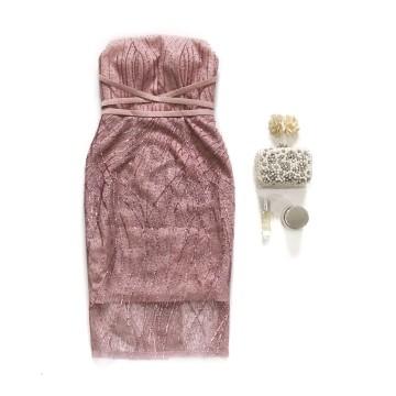 MALVA DRESS - PINK image