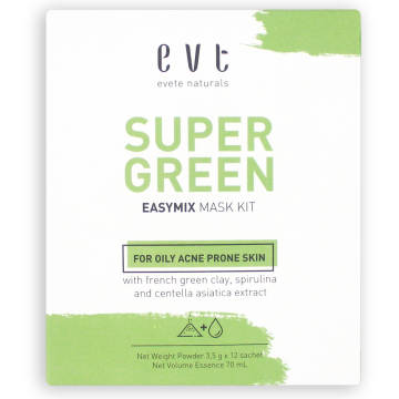 EASY-MIX Face Mask Kit Super Green image
