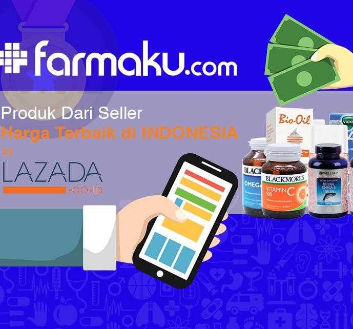 Farmaku.com Mendapat Predikat Harga Terbaik Di Indonesia Dari LAZADA.CO.ID image