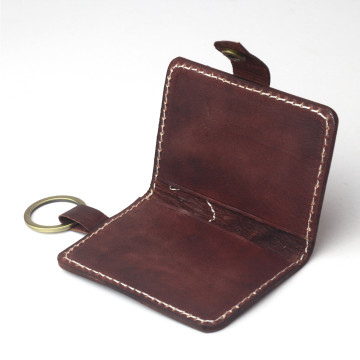 Baliem Key Wallet Mahogany