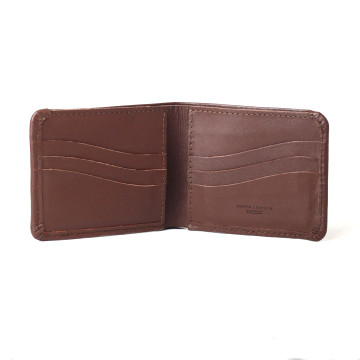 Singga Full Grain Dark Brown Wallet