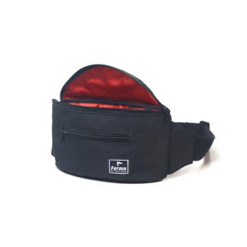 Black Taruma Waist Bag