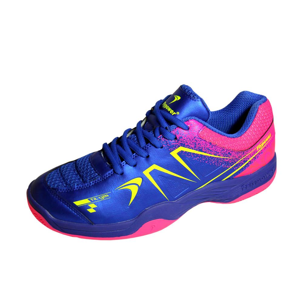 Flypower Plaosan 5 Sepatu Badminton - Royal Blue   Hot Pink 4d1d5a7c30