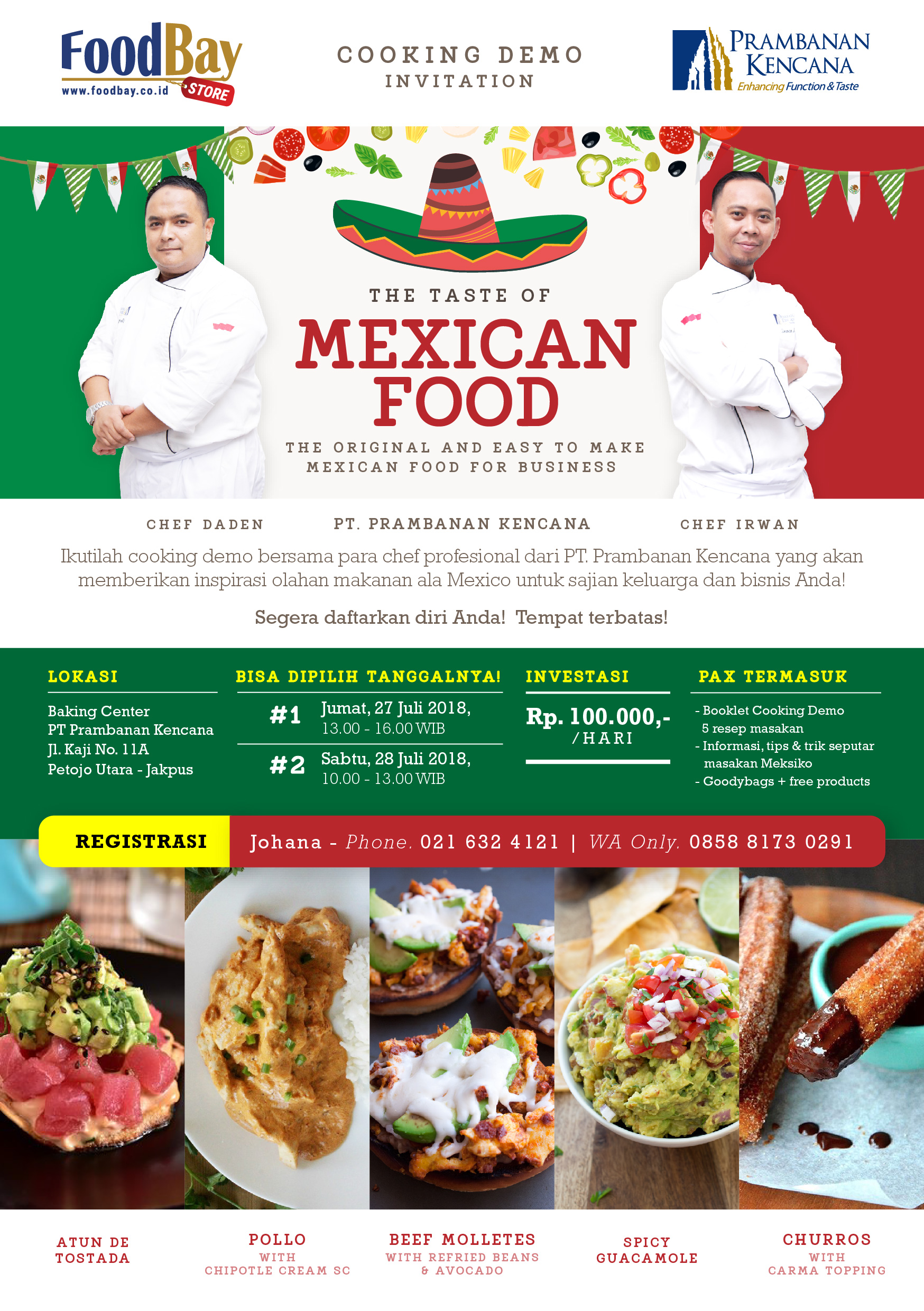 Cooking Demo The Taste of Mexican Food image