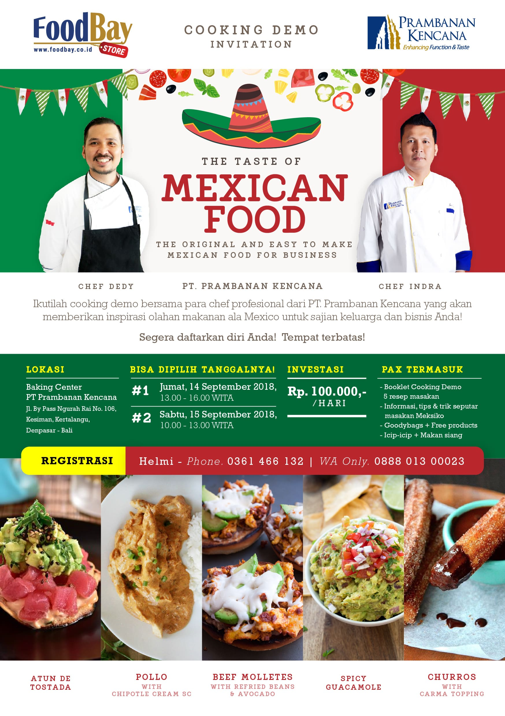 Cooking Demo - The Taste of Mexican Food image