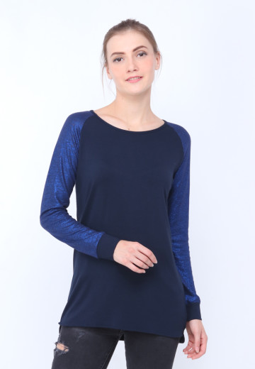 GEE EIGHT CHOCORD NAVY TEES (T3178)