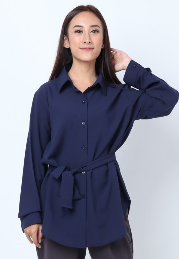 GEE EIGHT NAVY BASIC SHIRTS (SH 337)