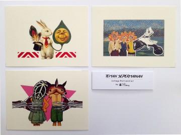 """Teman Sepermainan"" Postcard image"