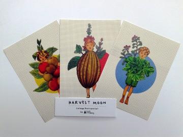 """""""Harvestmoon"""" Postcard image"""