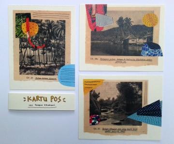 """""""Tempat Kesukaan"""" Postcard image"""