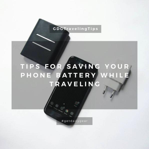 Tips Hemat Baterai Handphone saat Traveling image