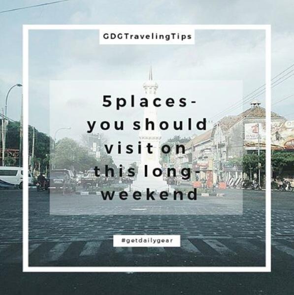 Rekomendasi Wisata di Yogyakarta a la GET Dailygear image