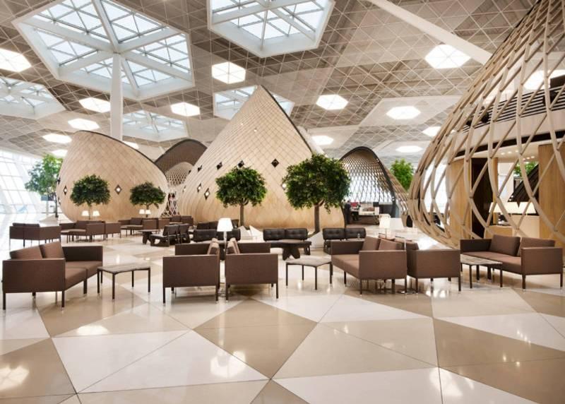 Heydar Aliyev International Airport Interior