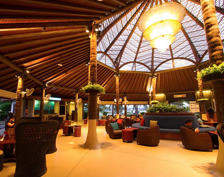 Inside Samui Airport