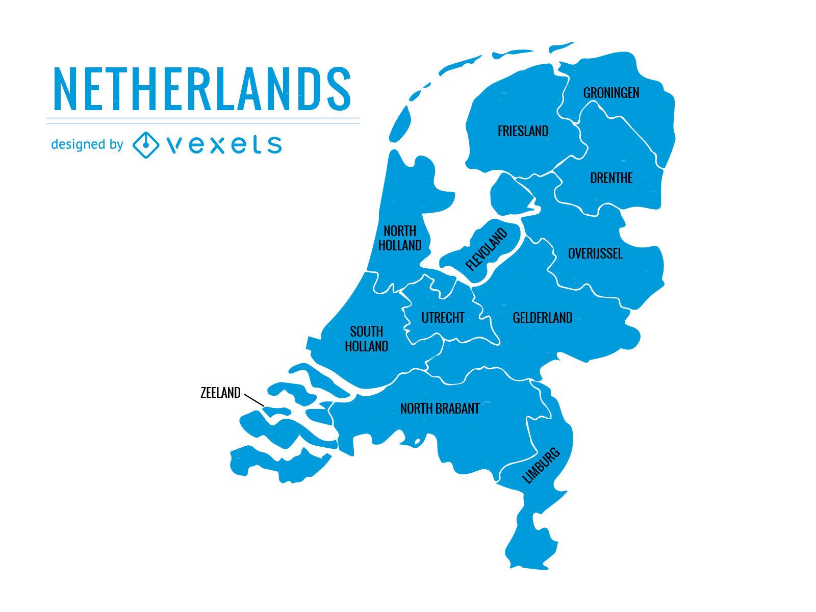 Provinsi di Belanda