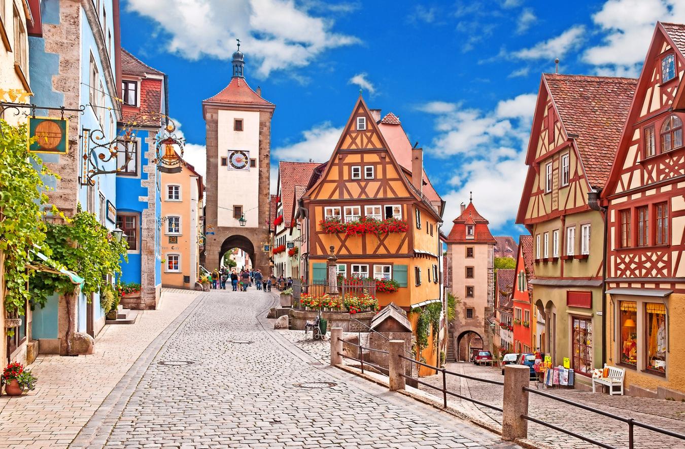 Tempat Negeri Dongeng di Jerman