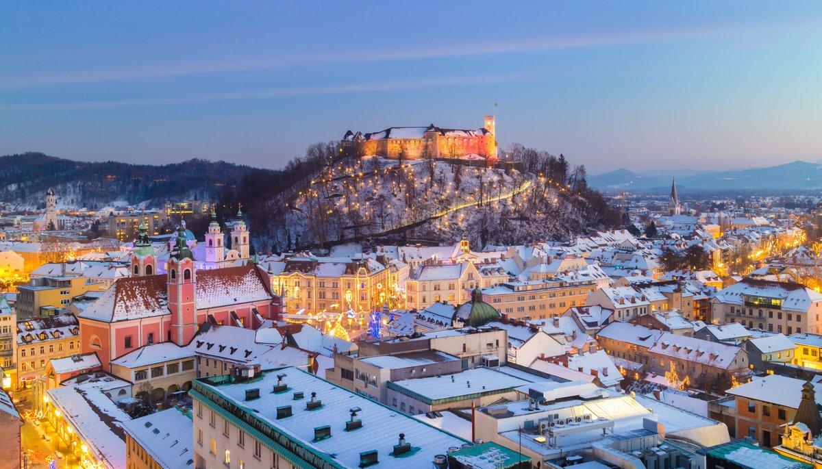 Ljubljana winter