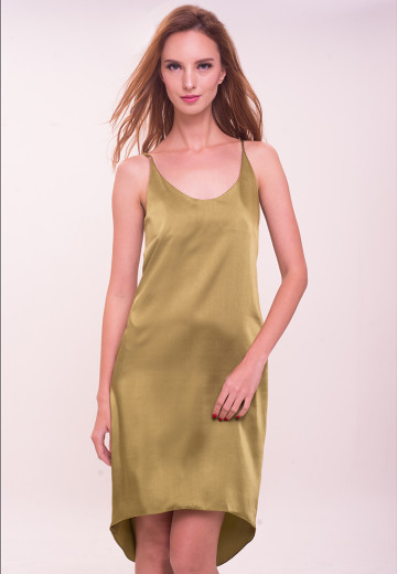 Shanghai Satin Slip Dress