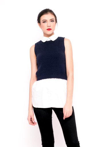 Westwood Combination Navy Top