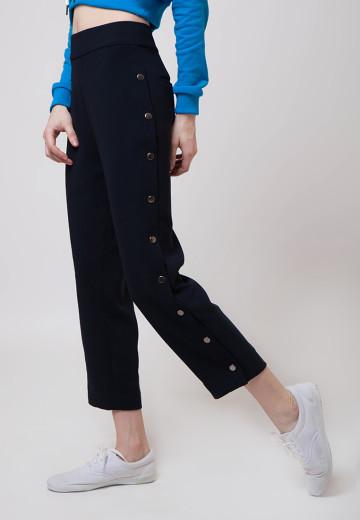 Luna Silver Snaps Pants