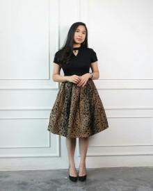 Indira Leopard Dress