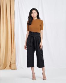Basic Nirina Top - Brown