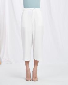 Basic Pocket Cullotes - White