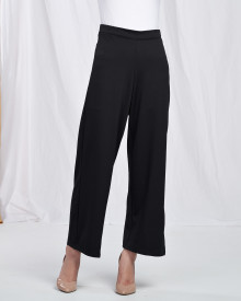 Basic Long Cullotes - Black