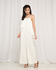 Millie Jumpsuit - White