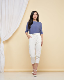 Loewy Knit Top - Blue