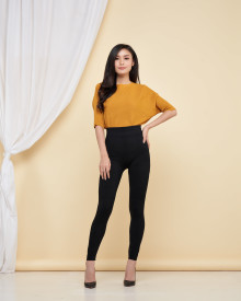 Loewy Knit Top - Mustard