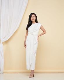 Brigitta Dress - White