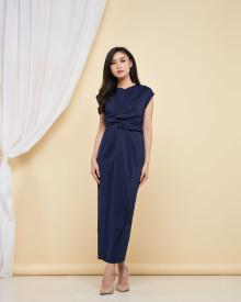 Brigitta Dress - Navy