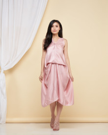 Wynn Multiway Dress - Dustypink