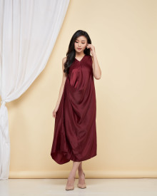 Wynn Multiway Dress - Maroon