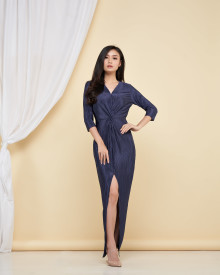 Penelope Dress - Navy
