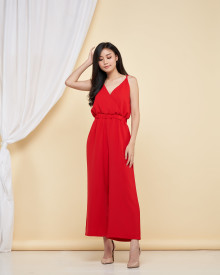 Esme Jumpsuit - Red